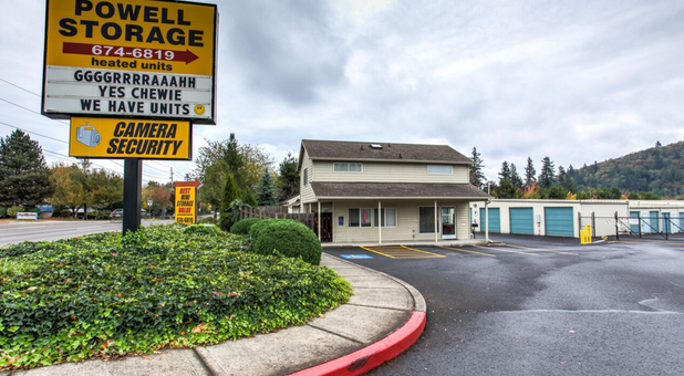 welcome to powell storage in gresham or