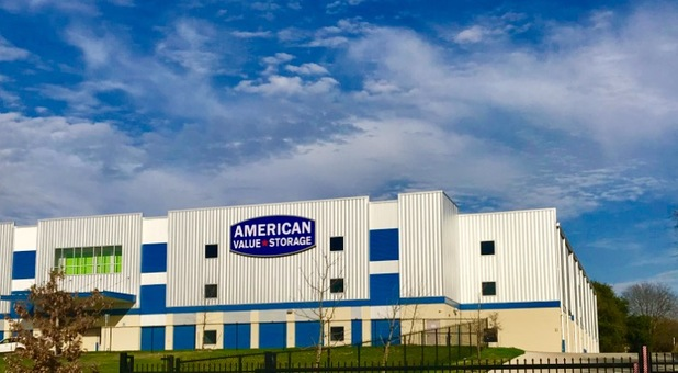 Full Outside View of American Value Storage