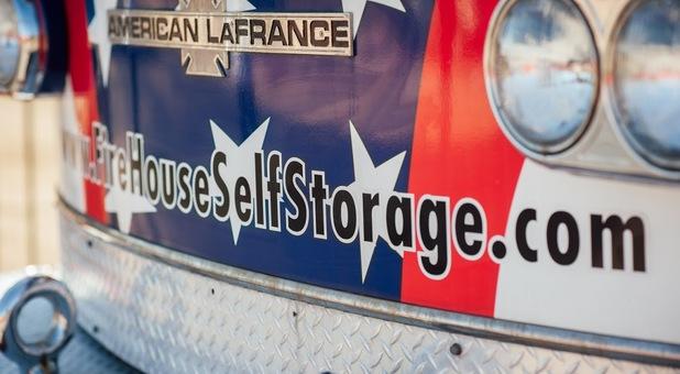 Firehouse Self Storage Truck