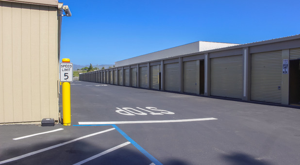 Outdoor and Drive-up storage units available for rent in Willow Glen area, San Jose, CA