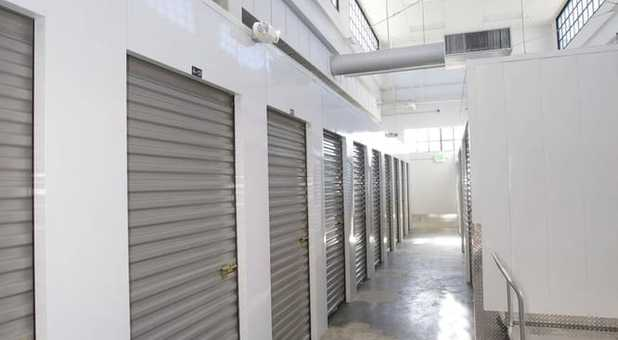Secure indoor storage units in East Sacramento. CA