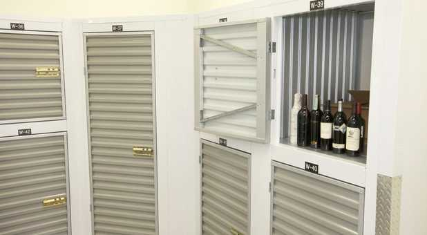 Climate Controlled Wine Storage Lockers at East Sac Self Storage in Sacramento, CA