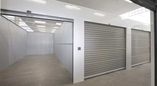 Indoor Drive Up Self Storage Units