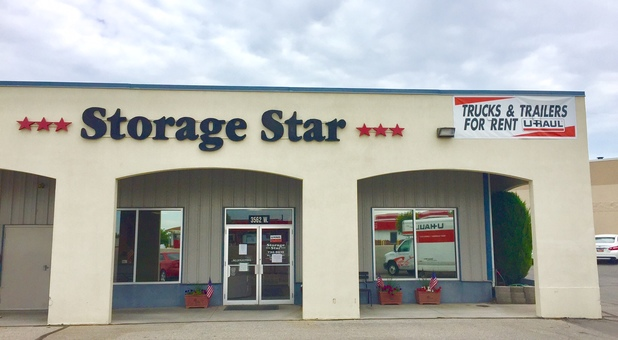 Storage Star Self Storage Front Door