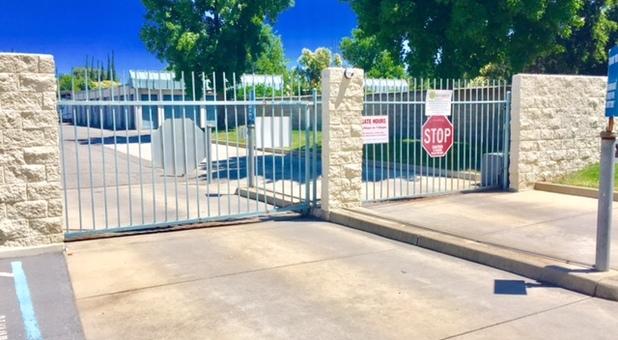 Greater American Self Storage Yuba City- Gate