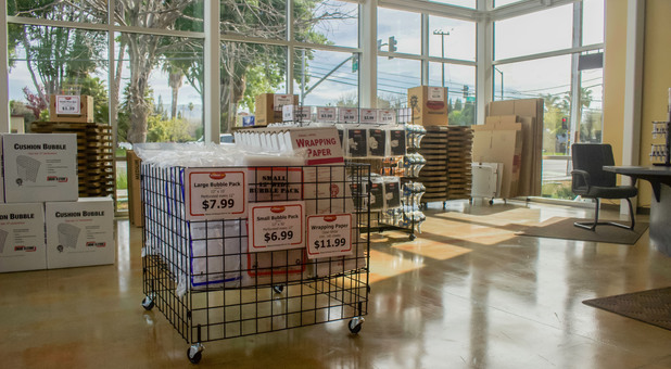 Discount boxes and packing supplies in San Jose, CA