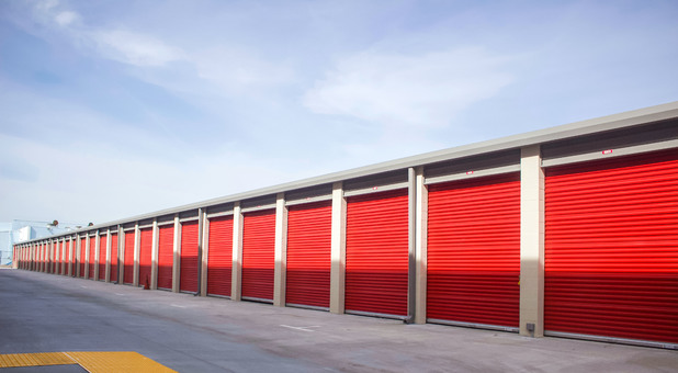 Drive-up storage spaces at StoragePRO 601 N. King Rd., San Jose, CA