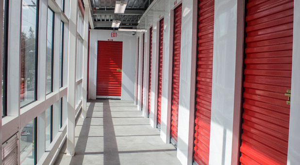 Indoor storage space available at StoragePRO 601 N. King Rd., San Jose, CA