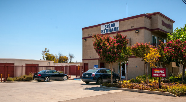 Street View of Storage Facility in Stockton, CA