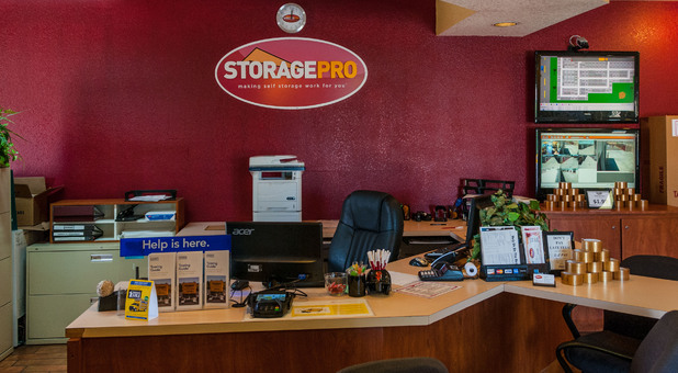 Front Office of StoragePRO