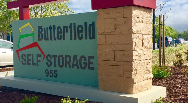 Butterfield Storage Sign