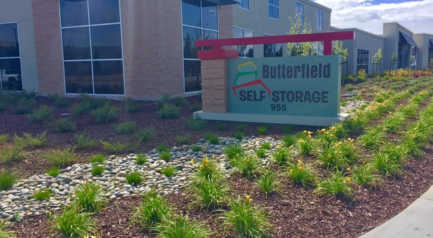 Butterfield Storage Outdoor Walkway