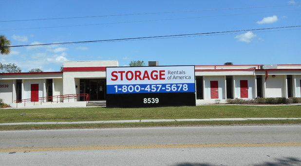 Storage Rentals of America Jacksonville, FL