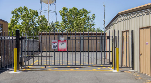 Fence Protected Self Storage