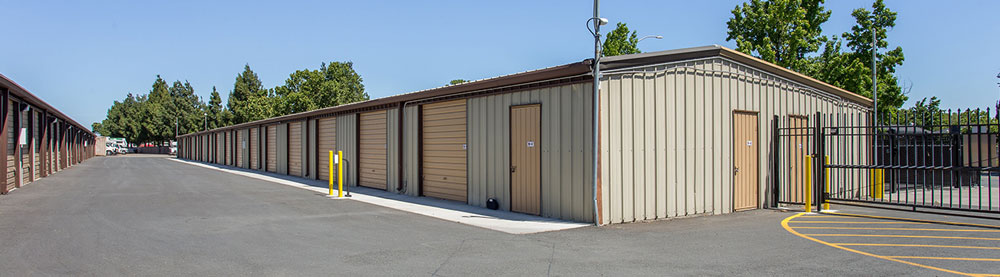 Gated and Fenced Protected Self Storage