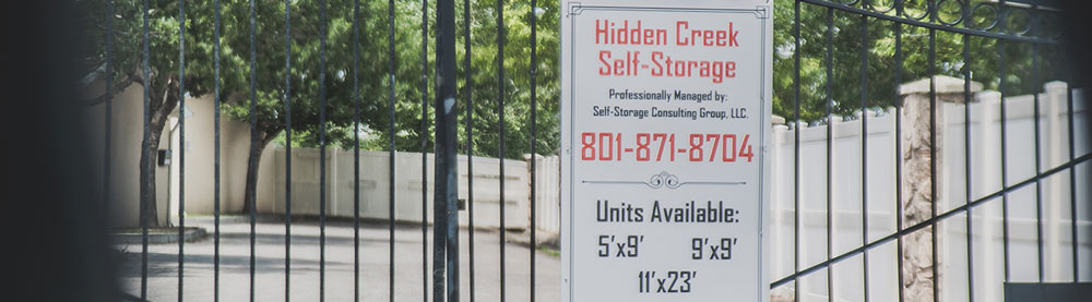 Fence and Gated Self Storage