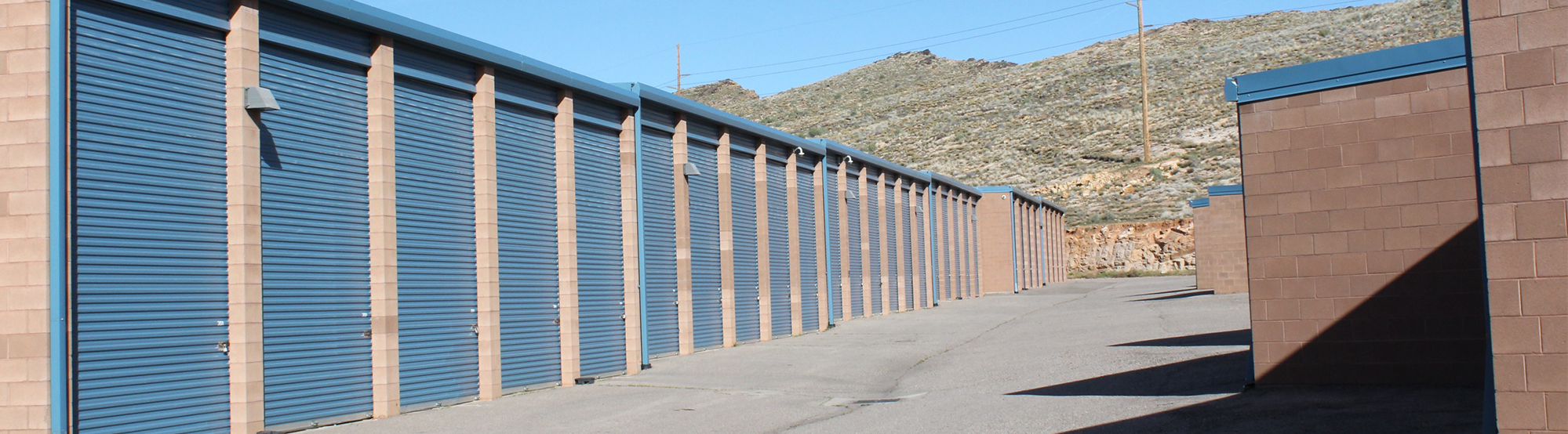 Outside Units KeepSafe Self Storage