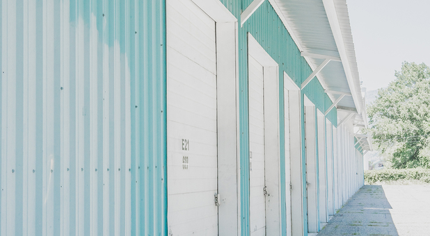 Large Outdoor Drive Up Storage Units