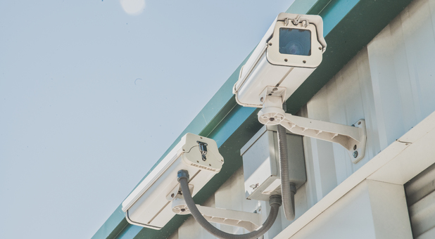 Security Cameras Located Throughout Facility at Safe & Sound Storage
