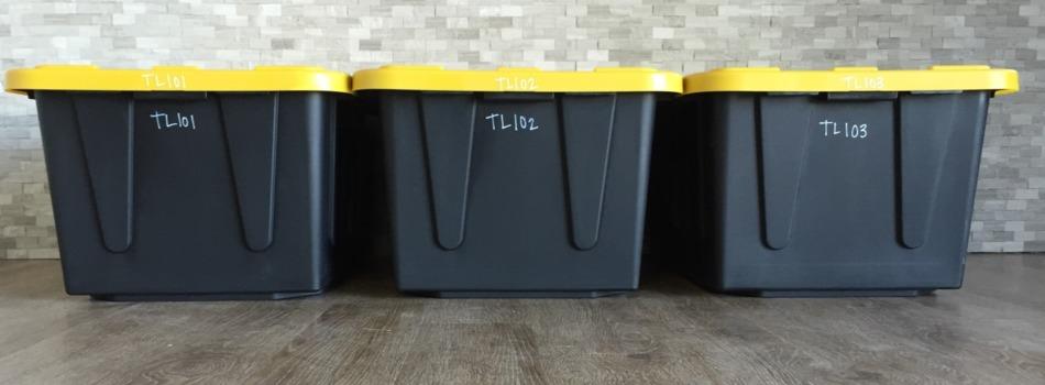 Valet Storage Totes