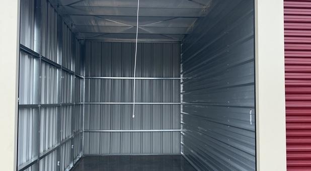 inside of a storage unit