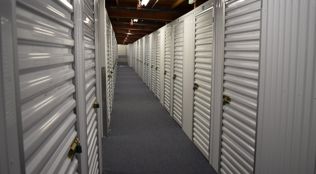 inside climate control storage units