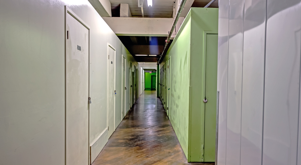 interior of storage facility