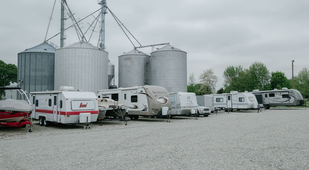 Uncovered RV, Boat, and Vehicle Surface Parking Noblesville, IN