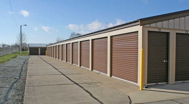 Scott St Storage Property Securely Fenced and Gated with Video Surveillance