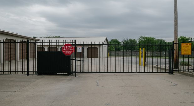 Fenced and Gated Facility with Keypad Controlled Access - MLK Jr Blvd