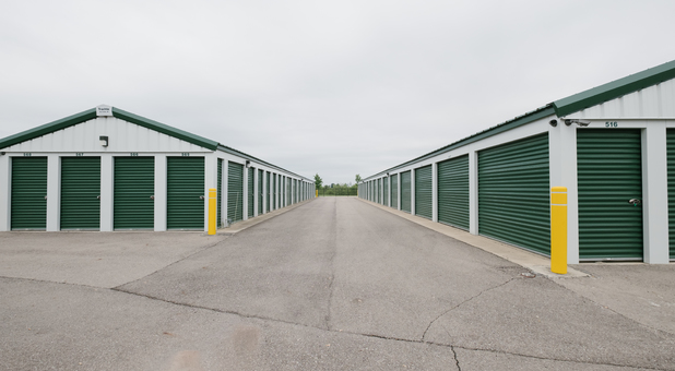 Variety of unit sizes to fit every self storage need