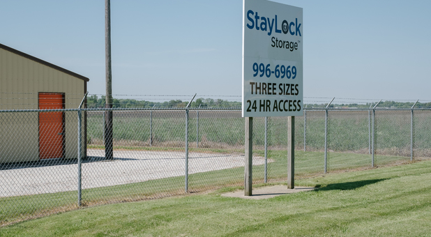 StayLock Storage Offers 3 Unit Sizes with 24 Hour Access