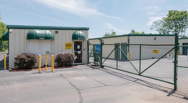 W Franklin Storage Facility is Securely Fenced and Gated with Keypad Controlled Access