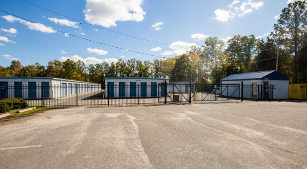 Fended and Gated Storage Facility