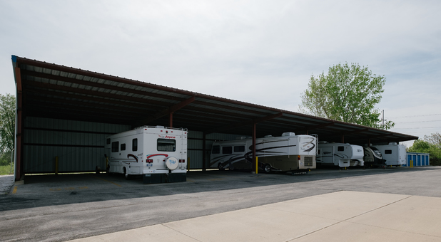Covered RV, Boat, and Vehicle Parking in Marion, IN