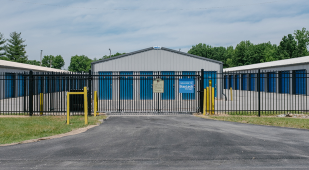 Fenced and Gated Facility with Video Surveillance