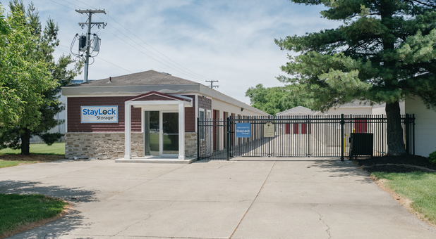Middleton Run Rd Property is Securely Fenced and Gated with Video Surveillance