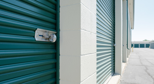 Storage Units are Individually Secured with Padlocks