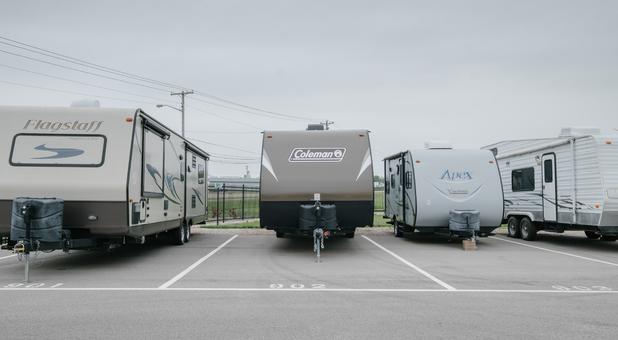 Outdoor RV Surface Parking