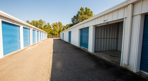 Easily Accessible Self Storage Units