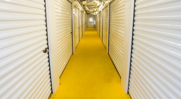 Well Lit Indoor Climate Controlled Storage Units