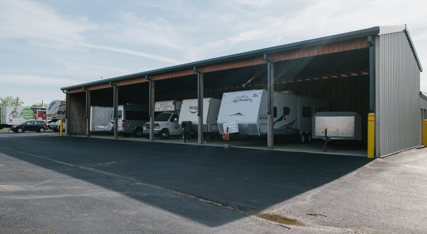 Covered RV, Boat, and Vehicle Parking in Fort Wayne, IN