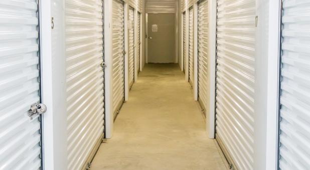 Well Lit Indoor Storage Units
