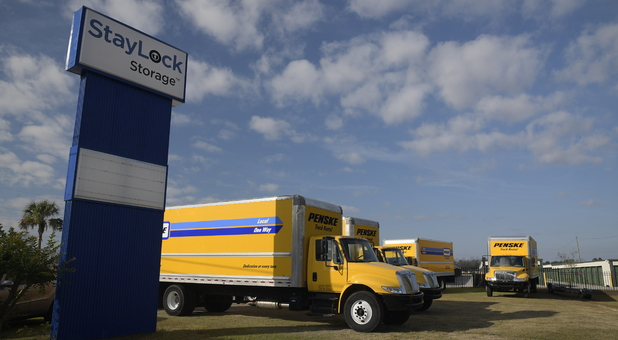 Penske Truck Rentals Available at StayLock Storage Valdosta, GA