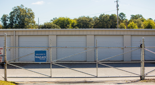 Fenced and Gated Facility in Camden, SC