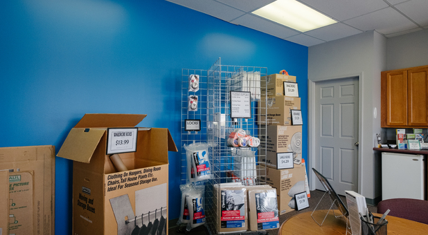 Boxes and Packing Supplies Sold Onsite