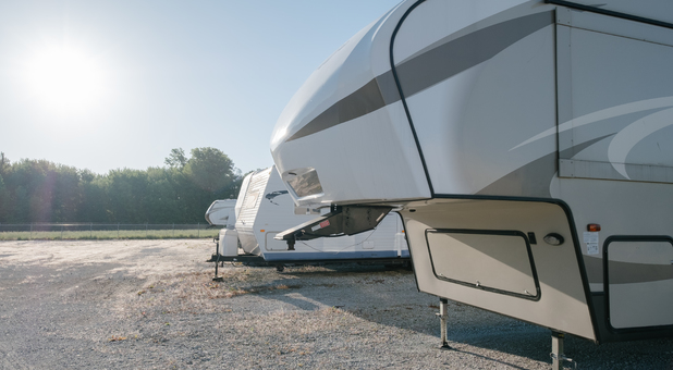 Outdoor RV, Boat, and Vehicle Parking