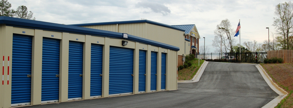 Store Smart Self Storage Wide Driveways and Regular Storage