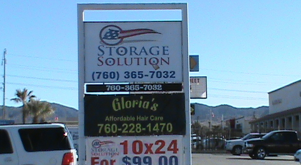 Yucca Valley, California self storage facility
