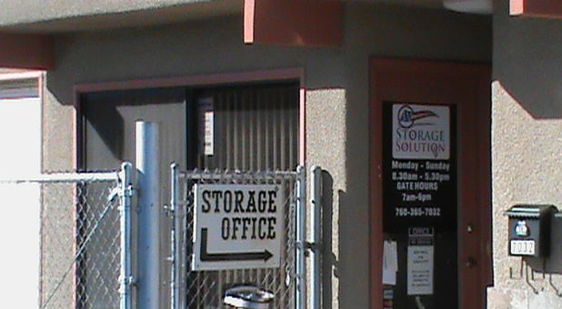 Secure and professional self storage facility